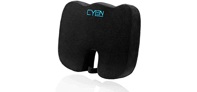 Cylen Home - Memory Foam Wheel Chair and Car Lift Cushion for Older Individuals