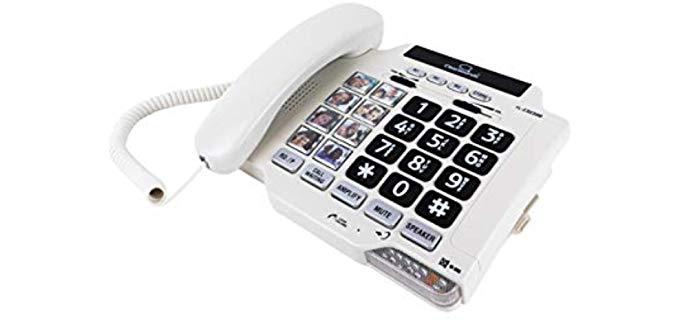 Unisex CSC500 - Landline Phone for Elderly Persons