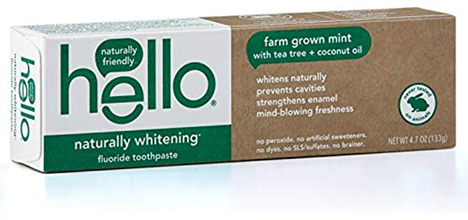 Hello Oral Care Naturally Whitening - Senior Toothpaste