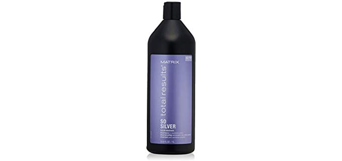 Matrix Total Results So Silver - Color Depositing Shampoo for Older People