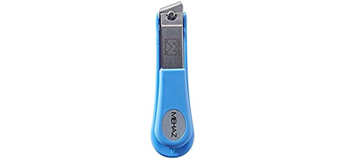 mehaz Pro Angled - Wide Jaw Toenail Clipper for Older People