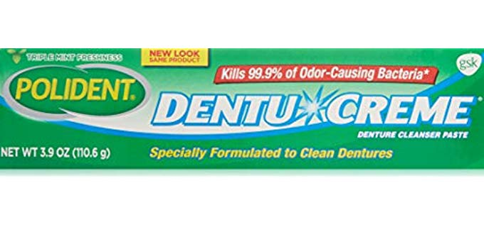 Polident Dentu-Cream - Senior Denture Toothpaste