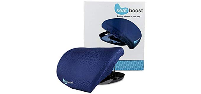 Seat Boost Stand Assist - Portable Lift Cushion for the Elderly Individual