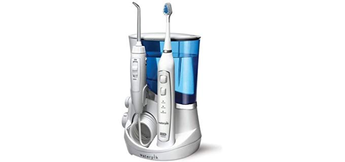 Waterpik Complete Care - Electric Toothbrush and Water Flosser for Elderly Individuals
