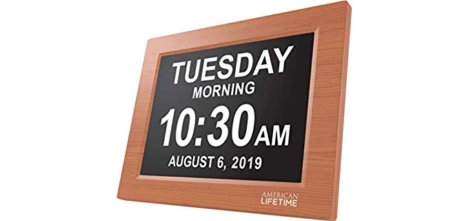 American Lifetime Day Clock - Alarm Clock for Seniors