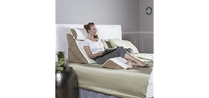 Avana Kind Orthopedic Support - Adjustable Bed Pillows for Elderly Persons