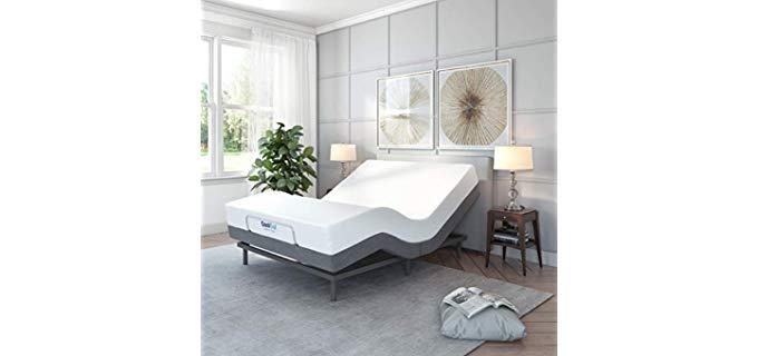 Classic Brands Adjustable Comfort - Adjustable Bed Base for Seniors