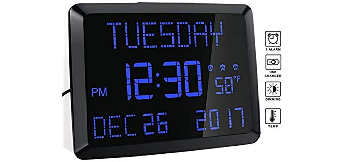 Rocam Day Clock - Clock for Elderly Persons