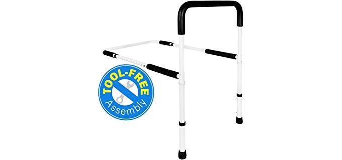 Vaunn Medical - Adjustable Bed Rail for Senior Individuals