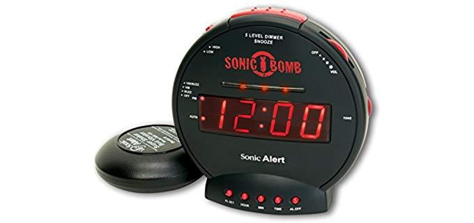 Sonic Alert Shaker - Clock for Seniors