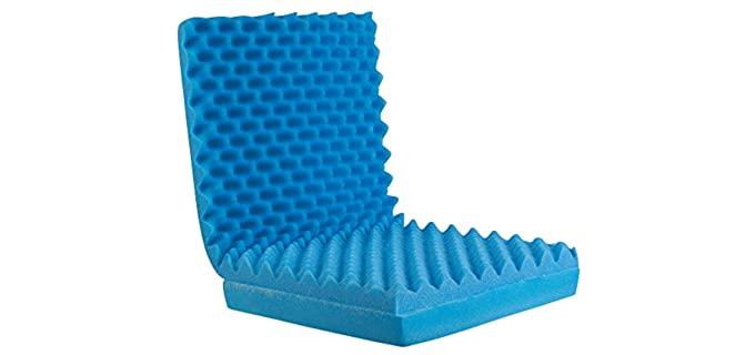 DMI Egg Crate - Pressure Sore Cushion for Recliners