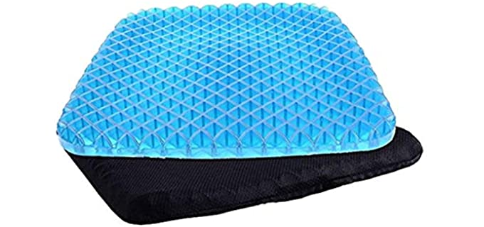 HeartBeat Air - Inflatable Portable Pressure Sore Cushion for Recliners