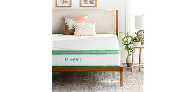 LinenSpa Hybrid - Latex Coil Mattress for Seniors