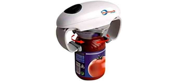 One Touch Adjustable - Senior Automatic Jar Opener