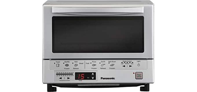 Panasonic FlashXpress - Compact Toaster Oven for Seniors