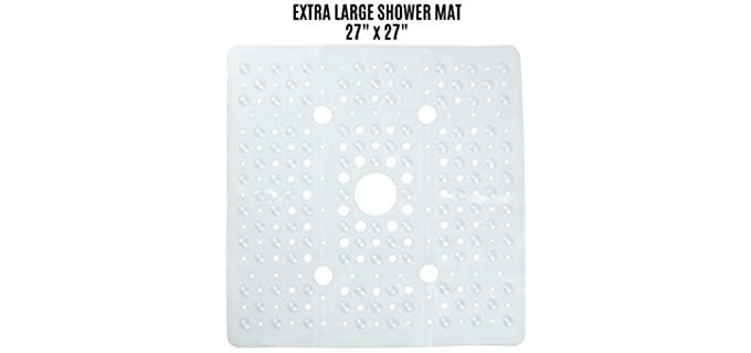 SlipX Solutions - Non-Slip Shower Mat for Seniors