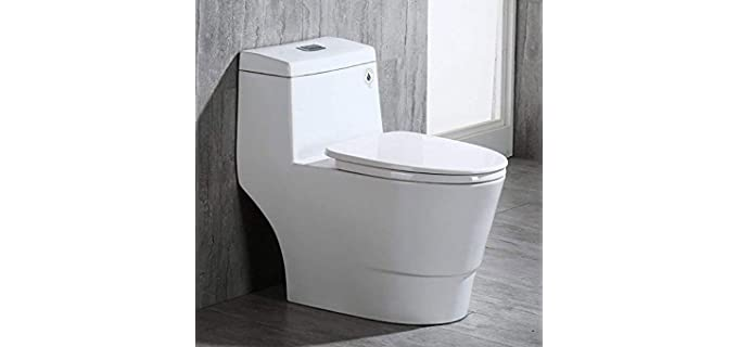 WoodBridge Dual Flush - Elongated Seat Senior Toilet
