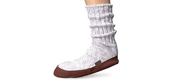 Acorn Slipper Sock - Slipper Socks for Older Persons
