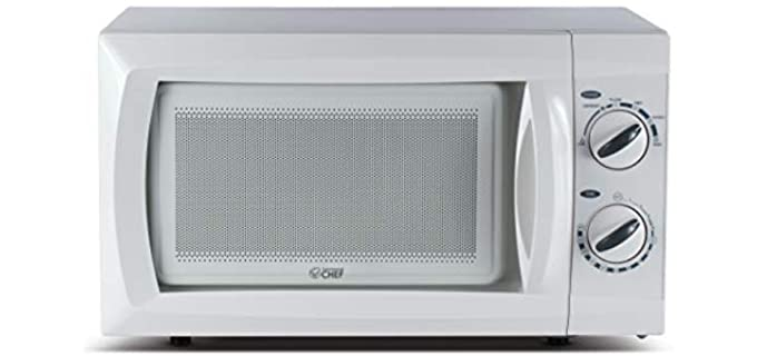 Commercial Chef Countertop - Rotary Microwave for Older Persons