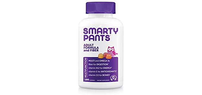 Daily Gummy Multivitamin - Chewable Vitamin for Older People