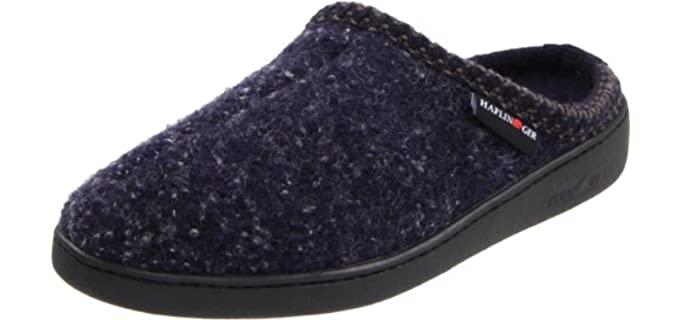 Haflinger AT Wool - Slip On Slippers for Seniors