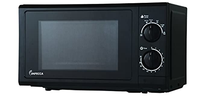 Impecca CM0674K - Counter Top Microwave for Seniors