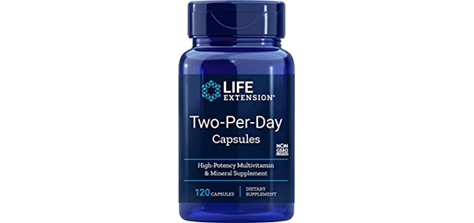 Life Extension Two Per Day - Senior's Multivitamins and Minerals
