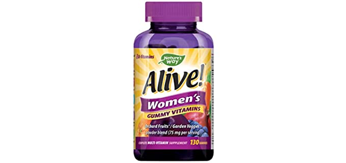 Nature's Way Alive - Chewable Vitamin for Senior Persons