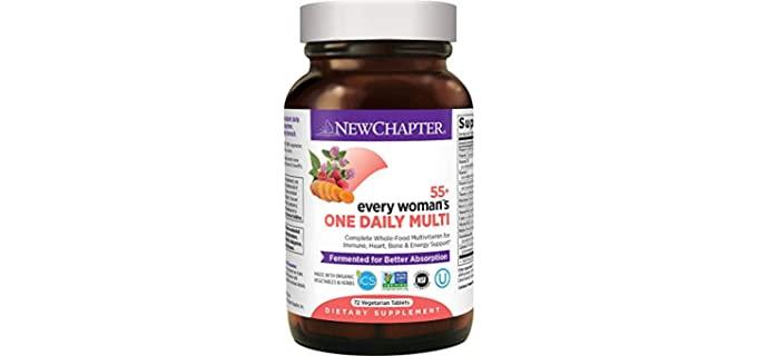 New Chapter Multivitamin - Multivitamin for Older Women
