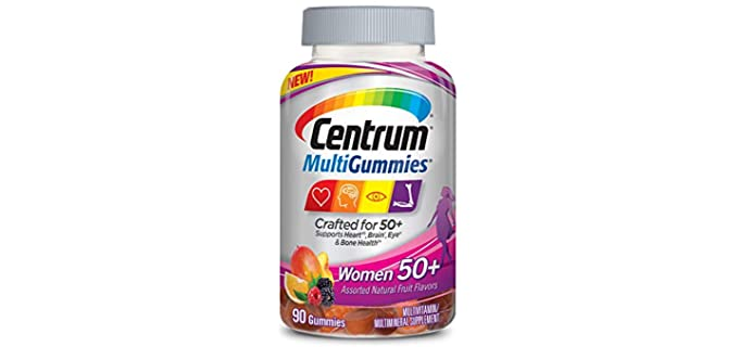 Centrum Silver - Gummy Chewable Vitamin for Seniors