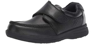 Nunn Men's Bush - Velcro Dress Shoe for Seniors