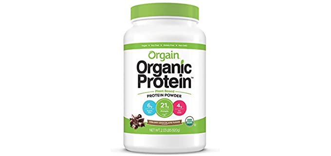 Orgain Organic - Plant Based Protein Drink for Older People