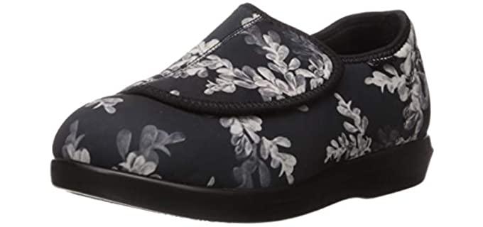 Propet Cush n Foot - Adjustable Slippers for Older Ladies