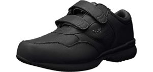 Propet Men's LifeWalker - Walking Shoe with Velcro Straps for Seniors