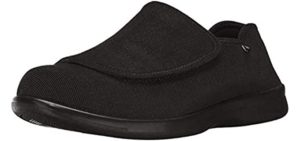 Propet Men's Cush n Foot - Comfy Slippers for Seniors