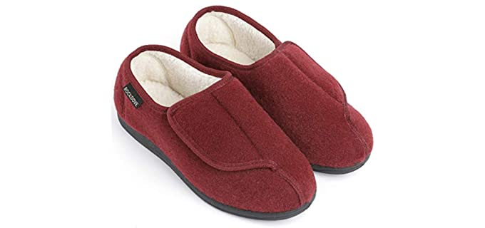 Rockdove Geri-Active - Indoor and Outdoor Slippers for Senior Ladies