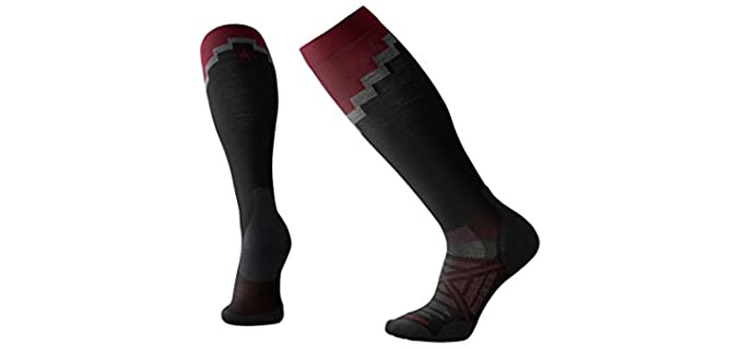 Smartwool Performance - Athletic Wool Compression Socks for Older Persons