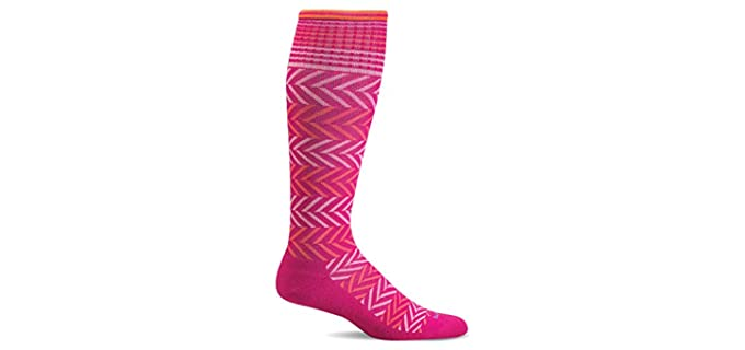 Sockwell Chevron - Graduated Compression Socks for Older Persons