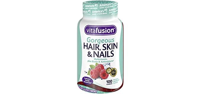 VitaFusion Hair Skin Nails - Senior Ladies Chewable Vitamin