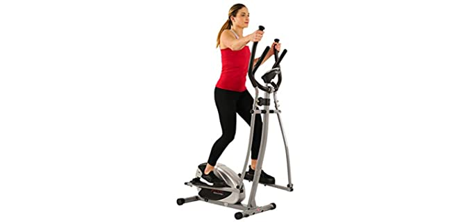 Sunny Health SF-E905 - Elliptical Machine for Seniors