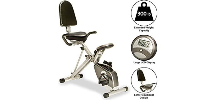 Exerpeutic 400XL Folding - Seniors Stationary Bikes