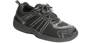 Orthofeet Men's Monterey Bay - Senior's Walking Shoe