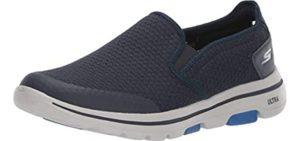 Skechers Men's Go Walk 5 - Slip On Walking Shoe for Seniors