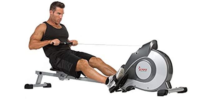 Sunny Health SF-RW5515 - Rowing Machine for Senior Persons