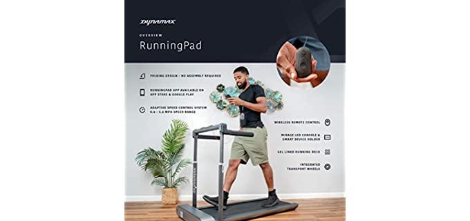 Dynamax RunningPad - Senior Treadmill