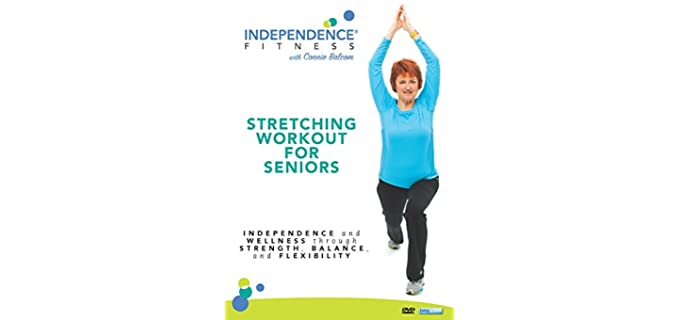 Independence Fitness Workout - Independence Stretching DVD for Seniors