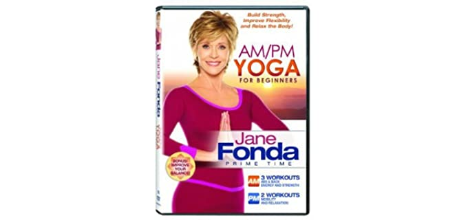 Jane Fonda AM/PM - Yoga Prcatice DVD for Seniors