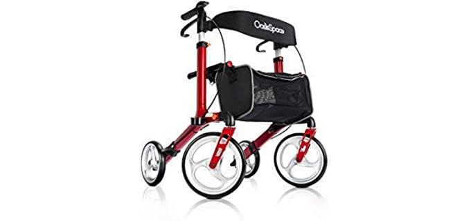 Oasis Space Alluminium - Rollator Walker for Seniors