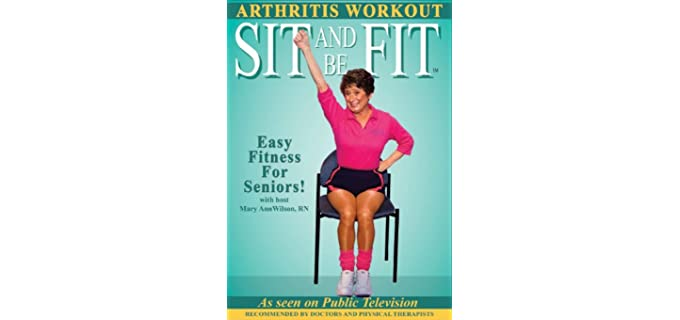 Sit and Be Fit Arthritis - Senior Seated Stretching DVD