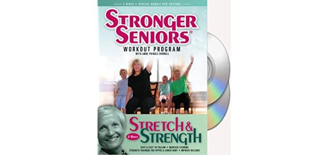 Stronger Seniors By Pringle Burnell - Strength Senior Stretching DVD